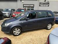 2006 56 VAXUALL ZAFIRA CLUB 1.6 7 SEATER