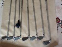 'WILSON' fat shaft golf clubs