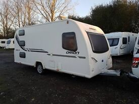 Bailey Orion 450/5 5 Berth caravan 2012 ,FIXED BUNK BEDS, AWNING, BARGAIN !