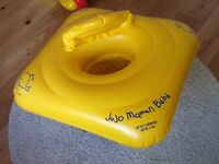 JoJo Maman Bebe swim seat, up to 12 months - only used twice!