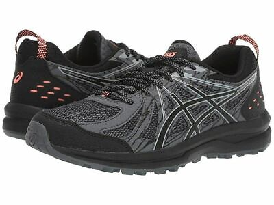 Asics Womens Frequent Trail Running Shoes Black / Grey Run Trainers