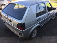 1989 VOLKSWAGEN GOLF GTI 8 VALVE(RESTORATION PROJECT)