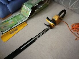 hedge trimmer brand new but box is a bit dusty