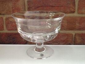 Dartington glass bowl
