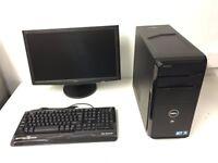 Media Computer PC Complete Setup with Monitor (Intel i7 860, 16GB RAM, 500GB, ATI Radeon Graphics)