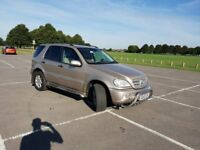 Mercedes ML270 Cheapest price for quick sale