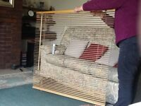 Horizontal slatted blind