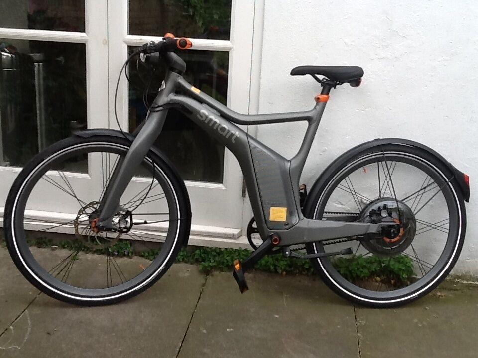 smart ebike electric bike new unused mercedes smart. Black Bedroom Furniture Sets. Home Design Ideas
