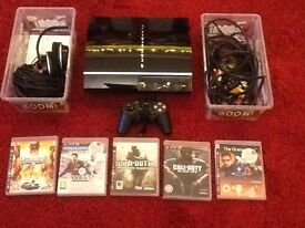 PS3 with controller and 5 games £45 if gone today