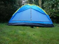 4 man/ four person tent BRAND NEW RRP £40- festival camping hiking play scouts