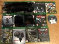 xbox one games , as new ! £10 each or five for £40 ! price stands , no offers !