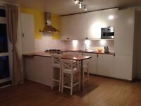 One bedroom, newly refurbished flat with balcony and communal garden with off street parking.