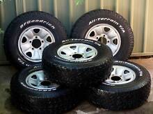 Toyota Land Cruiser 100 Series Wheels and Tyres Engadine Sutherland Area Preview