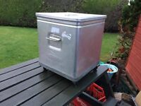 Kitchen grundy aluminimum storage unit