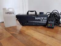 hazel z-150 dj smoke machine