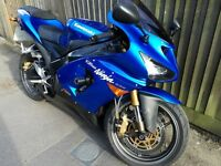 Kawasaki Ninja ZX6R 2005 C1H, 1 year MOT, HPI, Low miles, Service history, MINT CONDITION