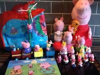 Huge Peppa Pig Toy Bundle