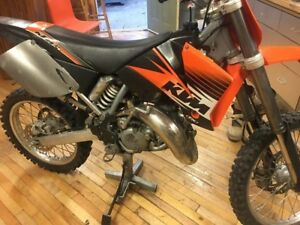 2001 ktm 125 sx ride ready no trades!