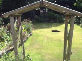 Wooden Garden Arch