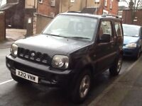 Jimny 1.3, 12 months MOT, reliable and fun to drive. Petrol. First registered 31.12.2000.
