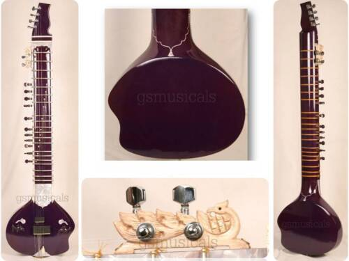 SITAR ULTRA PRO ELECTRIC WITH GIG BAG GSM020G C