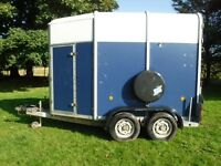 IFOR WILLIAMS HB505 2005 HORSE TRAILER SEE VIDEO CAN DELIVER VERY CLEAN MAIN DEALER PX