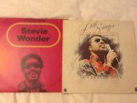 2 Stevie Wonder vinyl LP , 1 is a limited edition 3 record set, in good condition