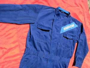 JDM Mazda service overalls 1980s Large - MX5 323 Rotary RX7 Cosmo Kalorama Yarra Ranges Preview
