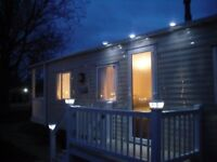 SQUARE SOLAR GUTTER LIGHTS , IDEAL FOR STATIC CARAVANS AND HOME USE, AVAILABLE IN WHITE OR BLACK