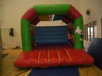 12ft x 2ft AIRQUEE BOUNCY CASTLE INFLATABLE (WITH BLOWER)