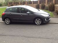 QUICK SALE 2008 PEUGEOT 308 SPORT 1.6 5DR 60000 MILES,NO MECHANICAL FAULTS,PRICED TO SELL QUICKLY.