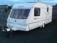 2001 Bailey pageant imperial 2 berth end changing room with fitted mover & awning