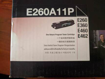 LEXMARK E260 TONER CARTRIDGE
