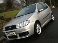 2005 FIAT PUNTO 1.4 SPORTING 3 DOOR WITH LOW LOW MILEAGE