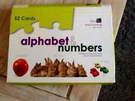 Alphabet & Number Flash Cards