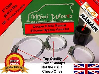 Mini R53 R52 Supercharger Bypass Valve kit Cooper S JCW GP