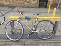 Raleigh road bike 70's frame- new built just been serviced excellent condition beautiful 22 inch