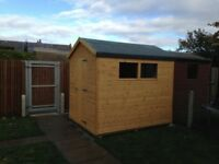 8ft x 6ft Wooden Garden Shed
