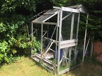 Free to collect 8 x 6 greenhouse no glass