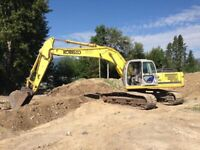 Excavation  for hire