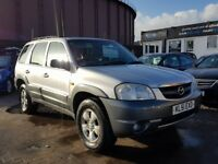 **BARGAIN 4X4** MAZDA TRIBUTE 3.0 V6 4WD AUTO (2001) - LOW MILES- LEATHER - LONG MOT - HPI CLEAR!