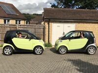 Smart car new mot