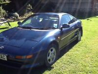 MR2 COUPE SPORTS 1991 BLUE MANUAL