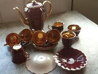 Vintage/Retro-Wade-Coffee Set 15 pieces-Mint Con-£35