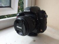 Nikon d750 + 50mm 1.8g Lens