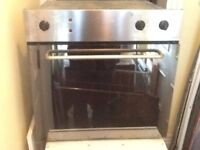 under counter single electric oven in good condition (non fan-assisted) can deliver