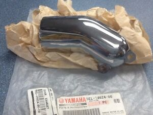 Yamaha Exhaust Cover for V-Star - NEW