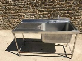 SINGLE CATERING SINK