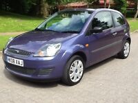 FORD FIESTA 1.2 STYLE 2008 08 **1 OWNER**62000 MILES**FULL FORD SERVICE HISTORY** STUNNING COLOUR**