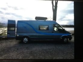 Ford Transit campervan ,low mileage ,very good condition.